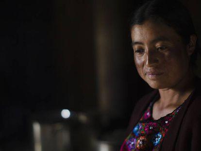 María, salvadoreña de 35 años, ha sido víctima de la violencia de género.