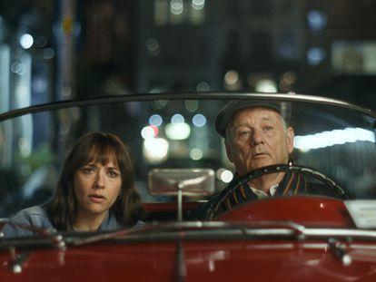 Rashida Jones y Bill Murray en 'On the Rocks', de Sofia Coppola.