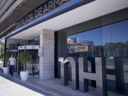 Hotel de la cadena NH en Sevilla.