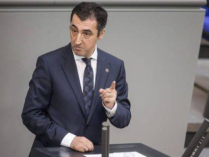 Cem Özdemir en el Parlamento alemán el pasado 2 de junio.