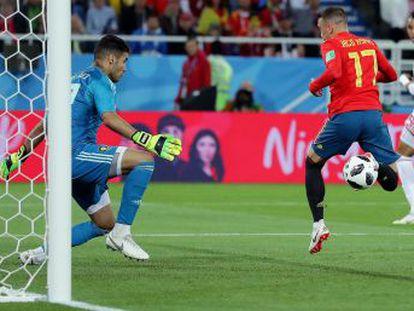 La Roja jugará el domingo (16.00) contra Rusia al igualar con Marruecos en el último suspiro con la intervención del VAR