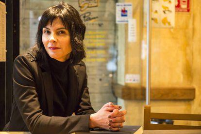 La crítica de cine Fernanda Solórzano, en la colonia Condesa.