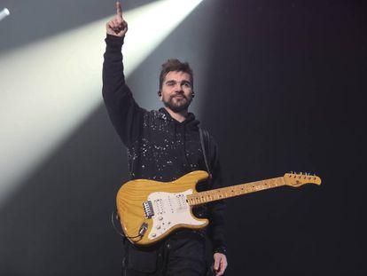 Juanes, en diciembre en Madrid.