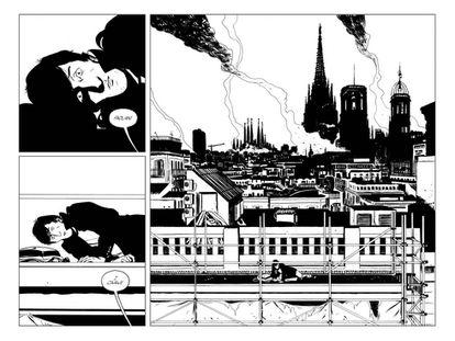 Una página del cómic.