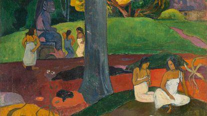La pintura de Paul Gauguin 'Mata Mua'.