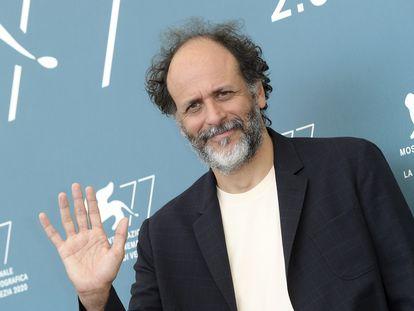 Luca Guadagnino en el Festival de Venecia, el pasado domingo.