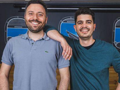 Los fundadores de la 'start up', Avi Meir y Javier Suárez.