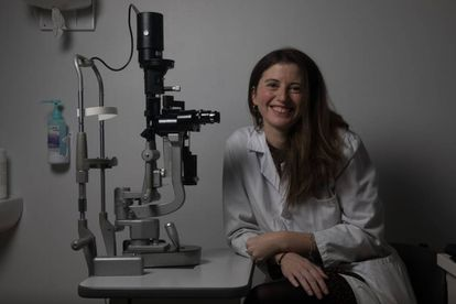 La doctora Susana Noval que dirige el CESUR (Centro de Servicio Unidad de Referencia) de oftamología pediátrica del hospital.