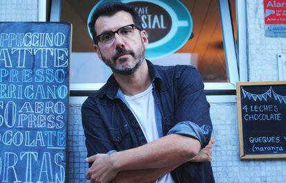 El escritor chileno Alberto Fuguet.