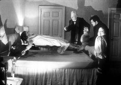 Escena de 'El exorcista'.