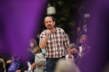 Pablo Iglesias Europa Press 30/04/2021