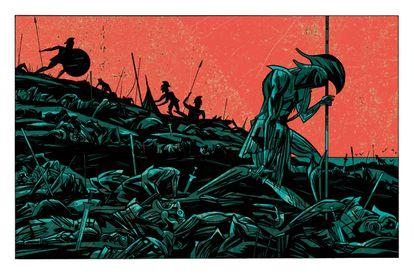 'La cólera', de Javier Olivares y Santiago García.