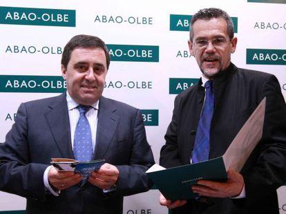 Juan Carlos Matellanes, a la izuqierda, y Jon Paul Laka.