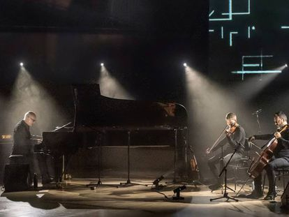 Ludovico Einaudi en el Auditori, en el marco del Festival de Jazz.