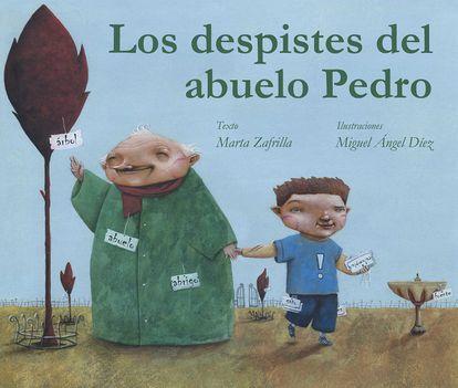 'Los despistes del abuelo' de María Zafrilla, es un cuento basado en hechos reales. Zafrilla lidió con el alzhéimer de su abuelo en la adolescencia.