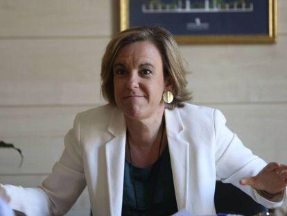 Purificación Causapié, portavoz socialista del Ayuntamiento de Madrid.