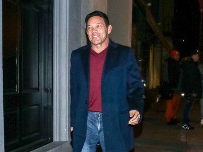 Jordan Belfort, el empresario condenado por fraude y personaje real en el que se inspira la película 'El lobo de Wall Street' en Nueva York en 2013.