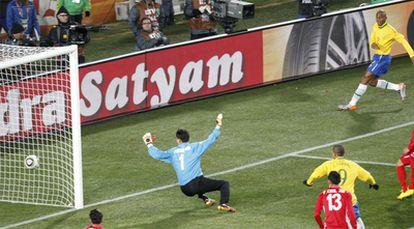 El brasileño ha  conseguido el tanto en el minuto 55 de juego