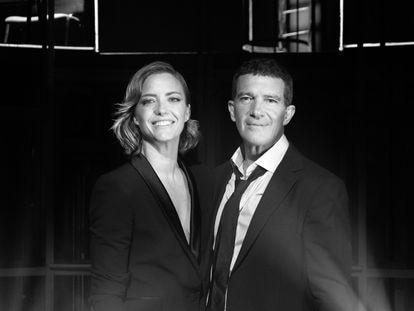 María Casado y Antonio Banderas dirigen y presentan 'Escena en blanco y negro' para Amazon Prime Video.