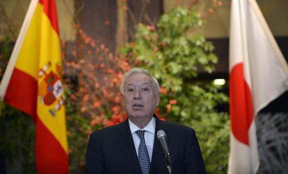 José Manuel García-Margallo, el miércoles, en Japón.