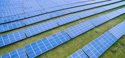 Parque fotovoltaico de Solaria, en una foto de archivo.