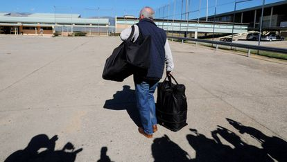 Rodrigo Rato llega a la cárcel de Soto del Real