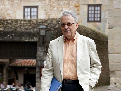 El historiador Santos Juliá, en Santillana del Mar.