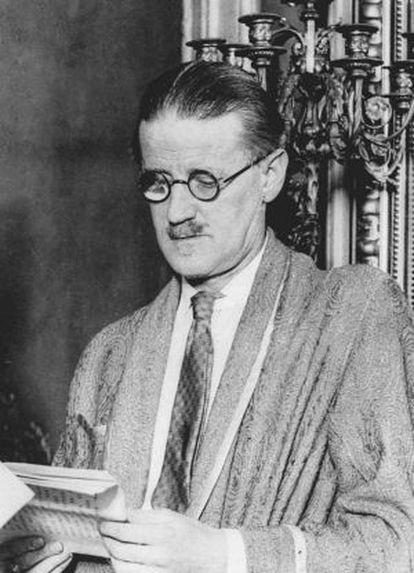 L'escriptor irlandès James Joyce.