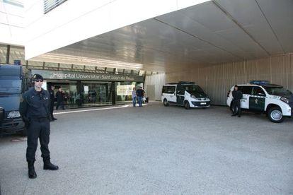Registro en el hospital universitario Sant Joan de Reus.