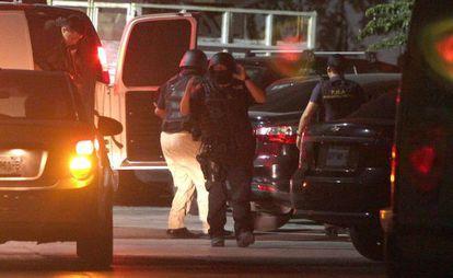 Una operación policial en México