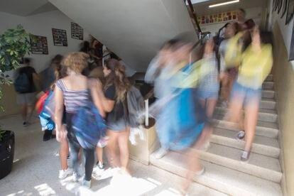 Un instituto de Barcelona en una imagen de archivo.