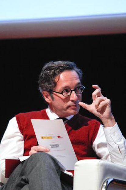 El secretario de Estado de Cultura, José María Lasalle.