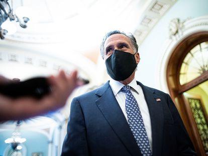 El senador republicano Mitt Romney, este sábado.