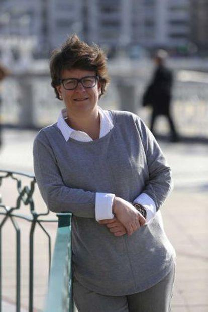 Miren Albistur, candidata del PP a la alcaldía donostiarras en las elecciones de mayo próximo.