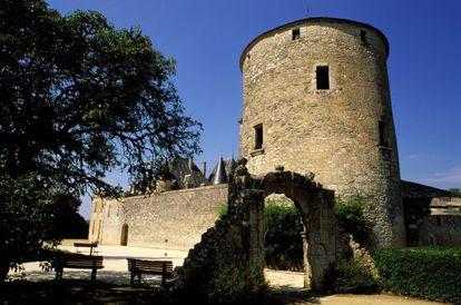 La torre de Montaigne en Saint Michel-de-Montaigne.