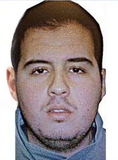 Ibrahim El Bakraoui, uno de los terroristas suicidas del aeropuerto de Bruselas.