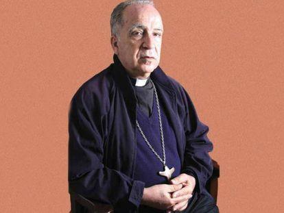El obispo Eugenio Arellano, presidente de la Conferencia Episcopal Ecuatoriana.