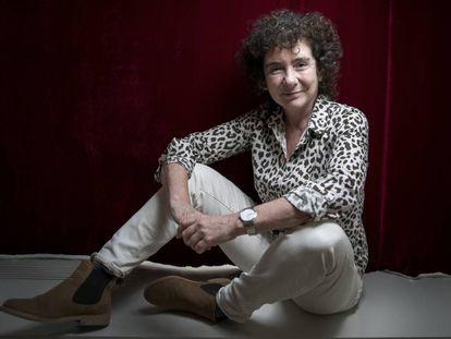 Jeanette Winterson, en el Hotel de las Letras de Madrid, el 22 de septiembre.