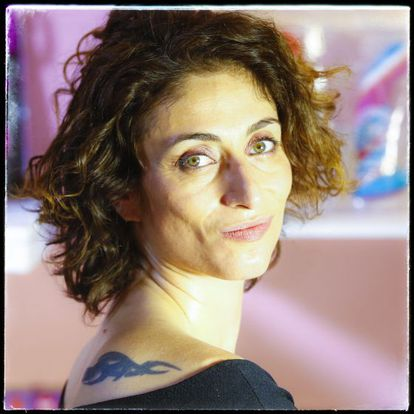 La periodista Celia Blanco, retratada en Madrid.