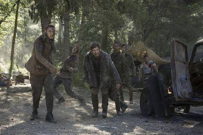 Los zombis de la película 'Malnazidos'.