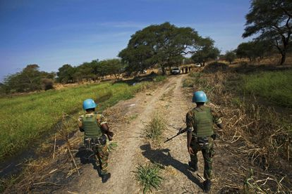 Cuerpos de paz de Naciones Unidas en Etiopía.