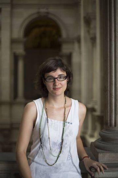 Mercedes Vidal, concejal de Movilidad de Barcelona y presidenta de TMB.