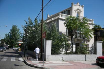El palacete Villa Menchu, en la calle de Arturo Soria.