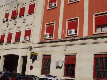 La comisaría provincial de Jaén, situada en la capital jiennense.