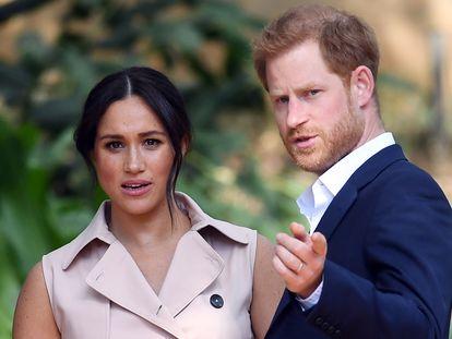 Enrique y Meghan, en Sudáfrica, en octubre de 2019.