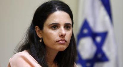 La nueva ministra de Justicia isarelí, Ayelet Shaked.