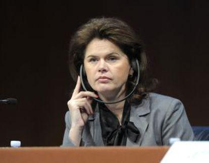 La primera ministra de Eslovenia, Alenka Bratusek.