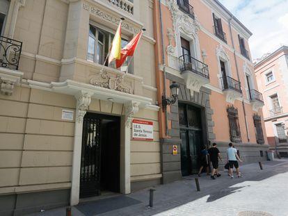 El instituto Santa Teresa de Jesús, en el centro de Madrid.