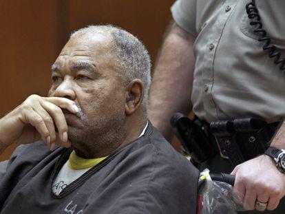 Samuel Little, durante el juicio contra él en Los Ángeles en 2013.