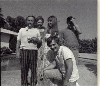 Dan Fante y su padre, John Fante.
